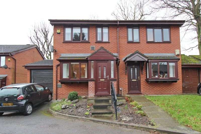 2 Bedrooms Semi Detached House for sale in Sycamore Place, Whitefield, Manchester