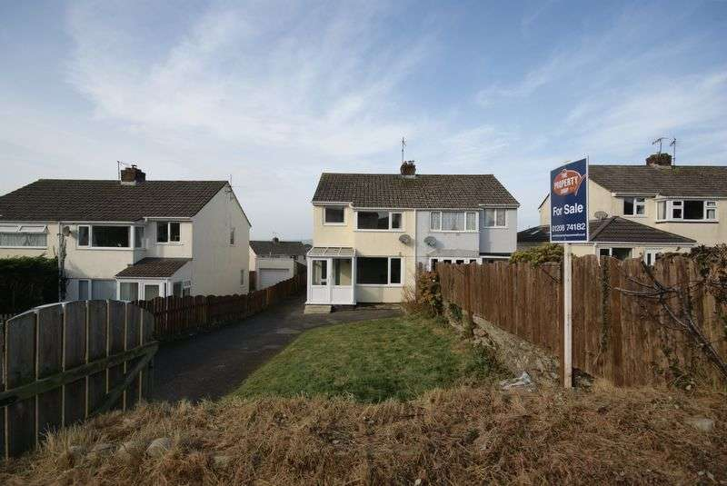 3 Bedrooms Semi Detached House for sale in St Marys Road, Bodmin
