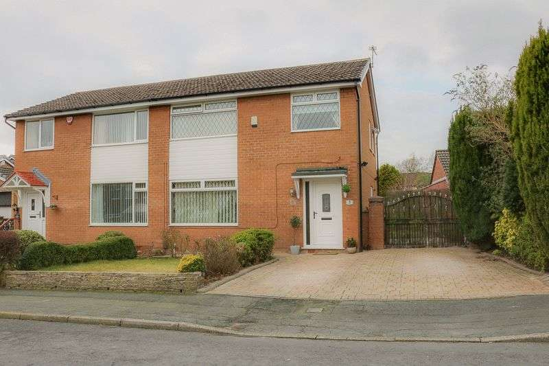 3 Bedrooms Semi Detached House for sale in Rushford Grove, Bolton
