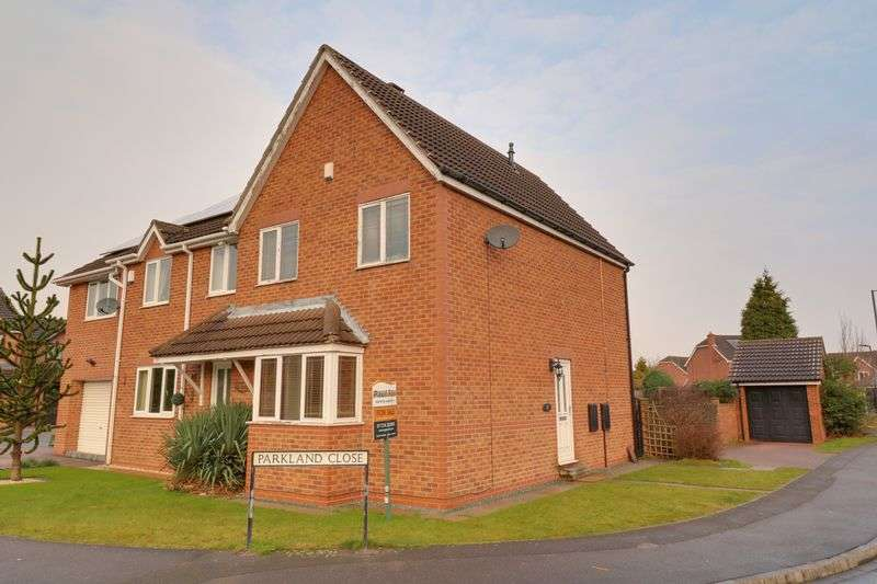 3 Bedrooms Semi Detached House for sale in Church Meadow Road, Rossington