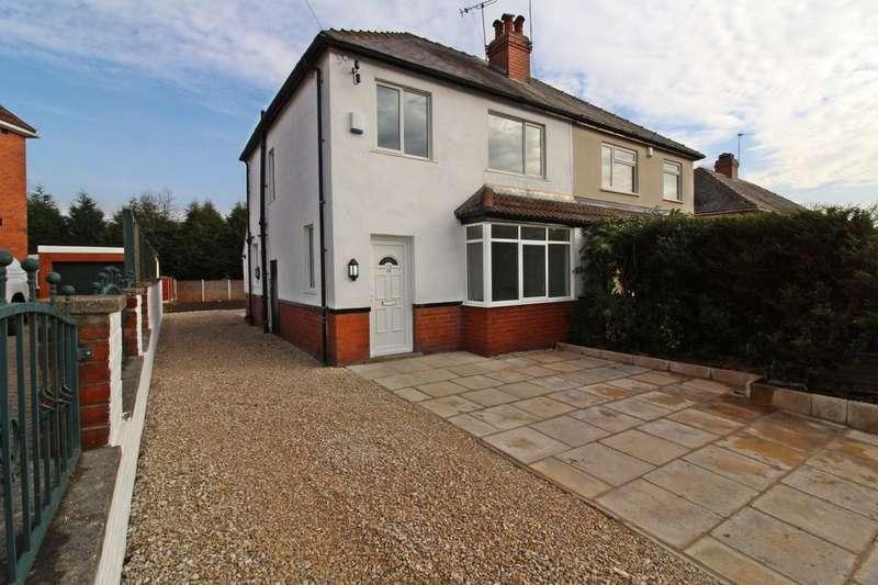3 Bedrooms Semi Detached House for sale in Parkland Crescent, Leeds, LS6