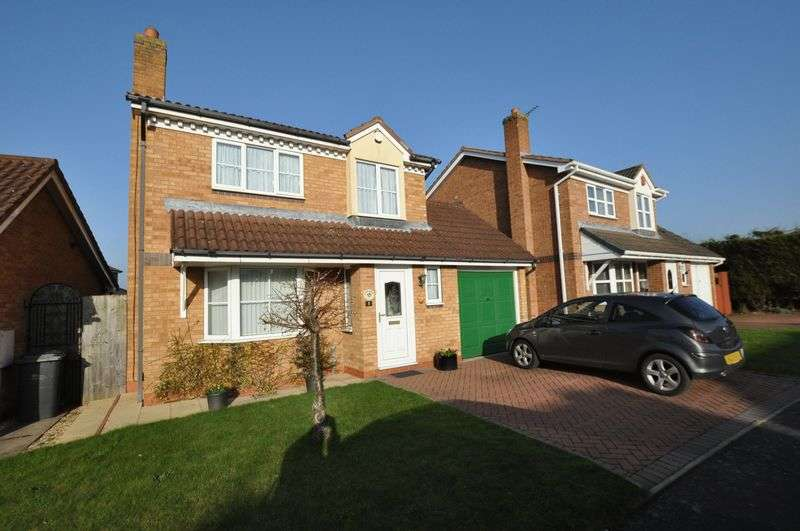 3 Bedrooms Detached House for sale in Faldo Close, Branston