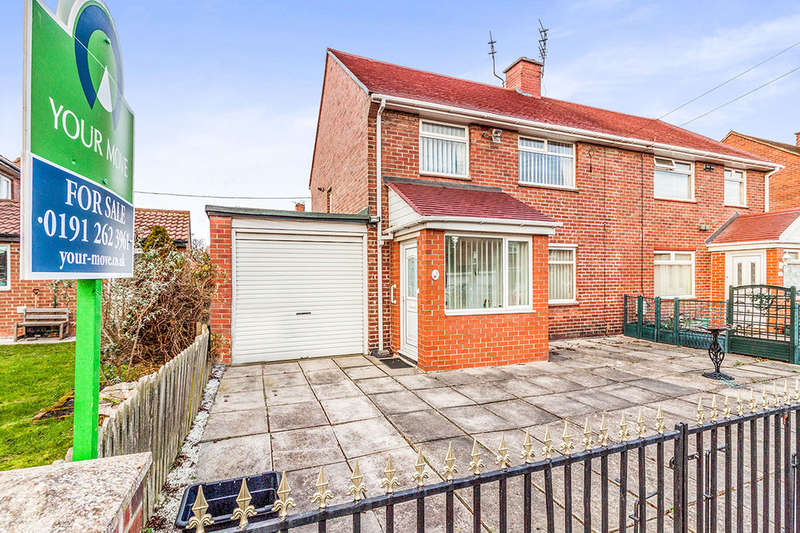 3 Bedrooms Semi Detached House for sale in Cambridge Avenue, Wallsend, NE28