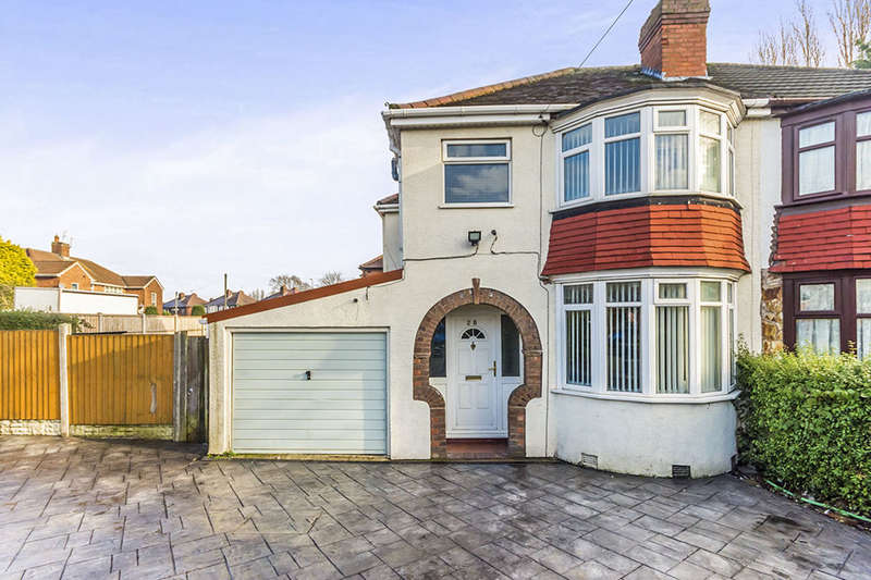 3 Bedrooms Semi Detached House for sale in Dovedale Avenue, Willenhall, WV12
