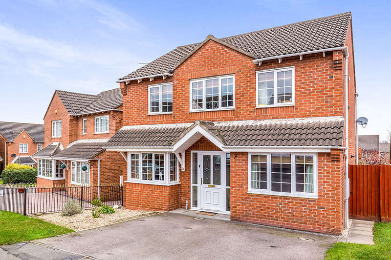 4 Bedrooms Detached House for sale in Thompson Close, Swadlincote, DE11