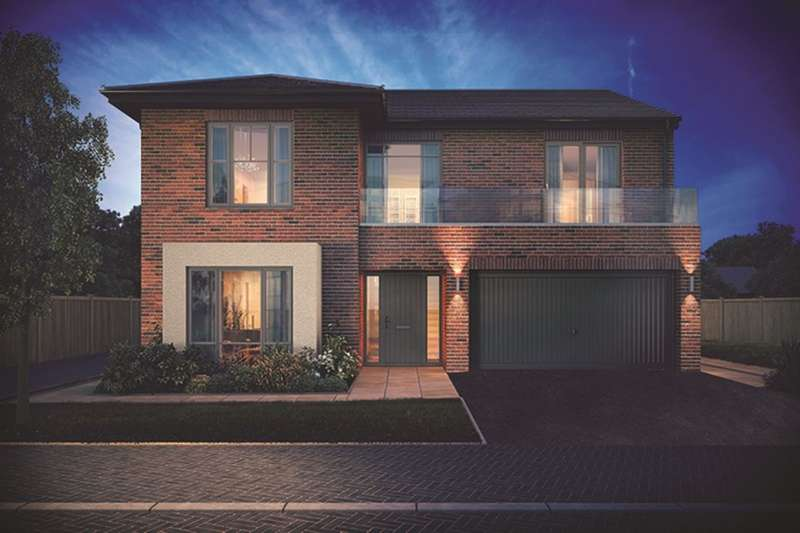 5 Bedrooms Detached House for sale in Valencia High Street, Linton, Swadlincote, DE12