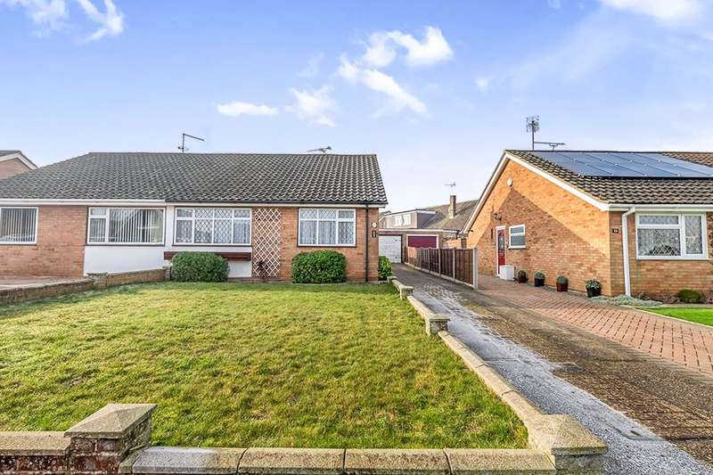 2 Bedrooms Semi Detached Bungalow for sale in Ash Crescent, Higham, Rochester, ME3
