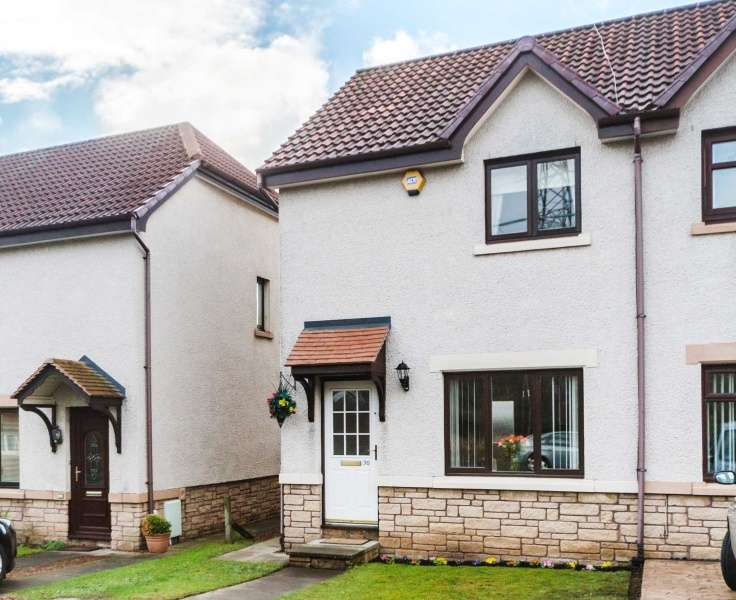 2 Bedrooms Semi Detached House for sale in Gilberstoun Loan, Brunstane, Edinburgh, EH15 2RQ
