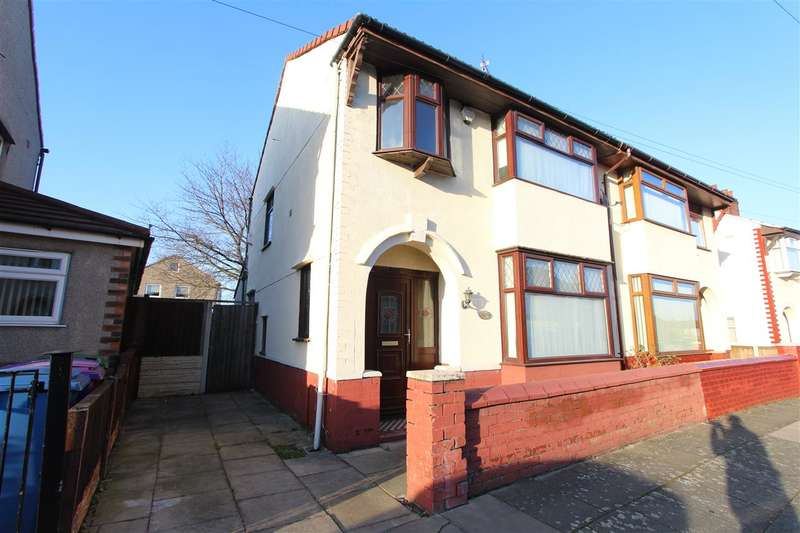 3 Bedrooms Semi Detached House for sale in Guernsey Road, Stonycroft, Liverpool