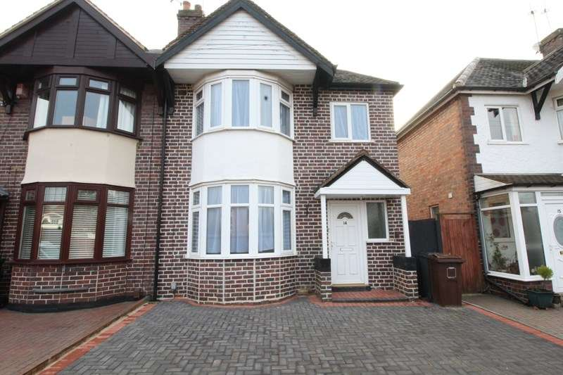 3 Bedrooms Semi Detached House for sale in The Crescent, Shirley, Solihull