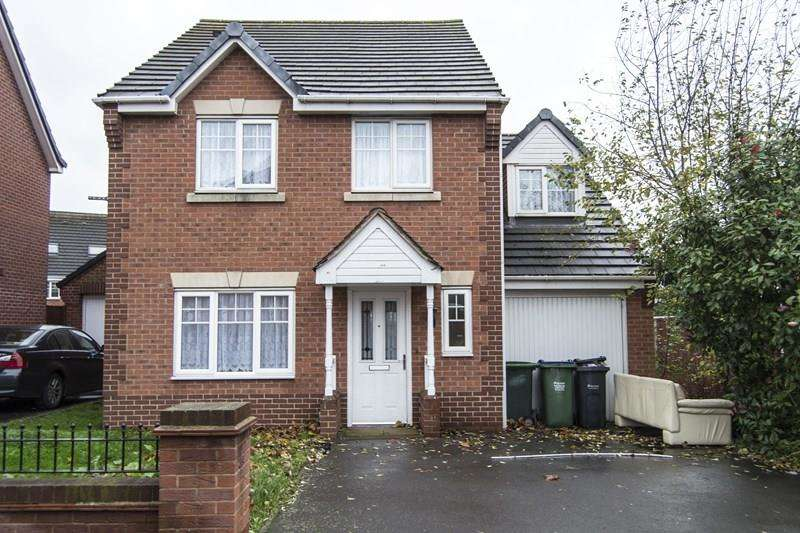5 Bedrooms Detached House for sale in Narel Sharpe Close, SMETHWICK