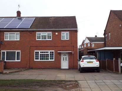 3 Bedrooms Semi Detached House for sale in Lockerbie Avenue, Leicester, Leicestershire