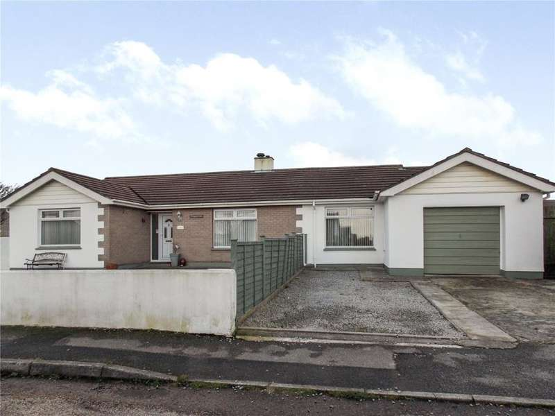 4 Bedrooms Detached Bungalow for sale in Bosvean Gardens, Paynters Lane, Redruth
