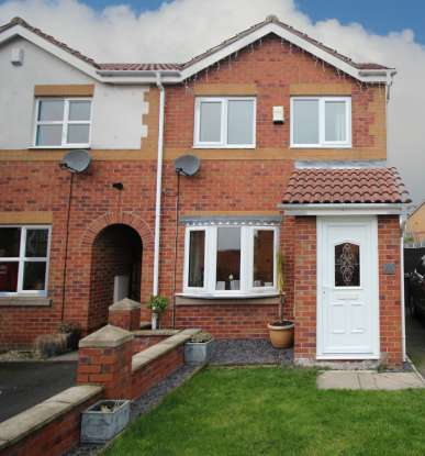 2 Bedrooms Semi Detached House for sale in Storrs Wood View, Barnsley, South Yorkshire, S72 8TA
