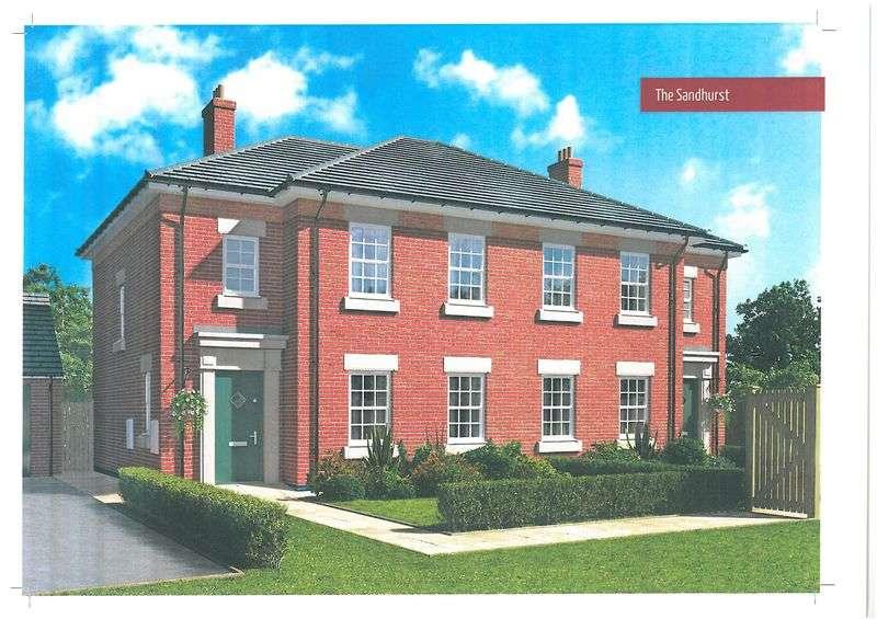 3 Bedrooms Semi Detached House for sale in Plot 43 Sandhurst Peacehaven, Willington
