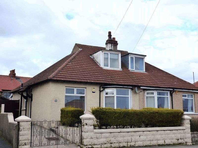 2 Bedrooms Semi Detached Bungalow for sale in Westminster Avenue, Morecambe