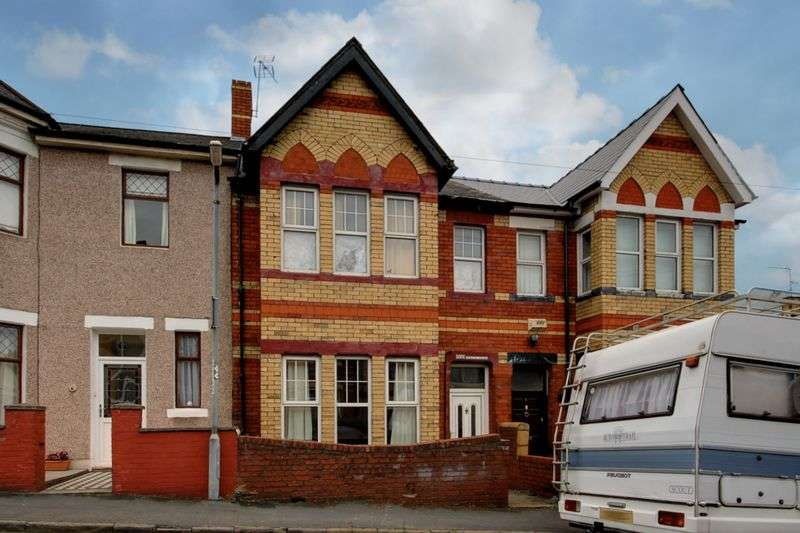 3 Bedrooms Terraced House for sale in Somerset Road, Newport