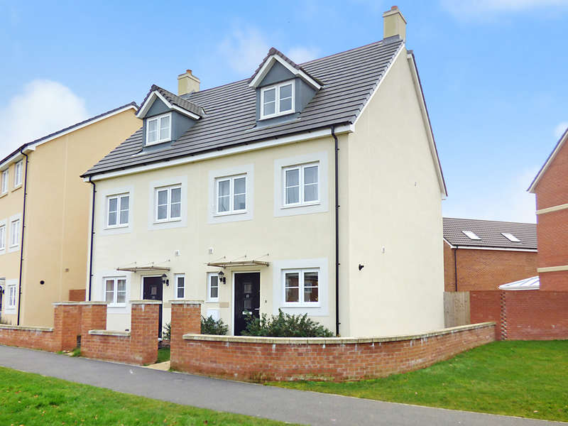 3 Bedrooms Semi Detached House for sale in Pipistrelle Crescent, Trowbridge