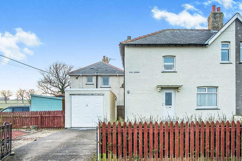 3 Bedrooms Semi Detached House for sale in Kiln Lonnen, Shilbottle, Alnwick, NE66