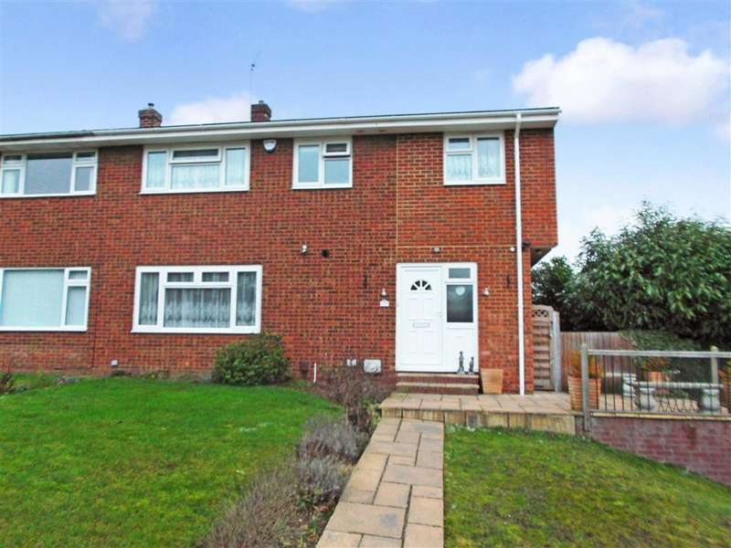 4 Bedrooms Semi Detached House for sale in Grebe Court, Birds Estate, Larkfield, Kent