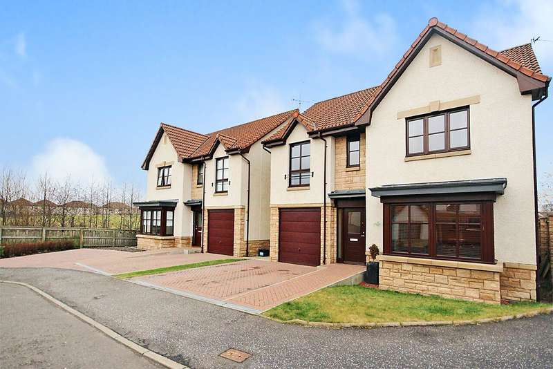 4 Bedrooms Detached House for sale in Cauldhame Street, New Carron, Falkirk