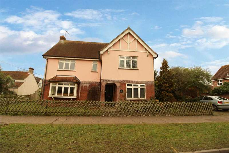 4 Bedrooms Detached House for sale in Boxted Mill House, Straight Road, Boxted, Colchester