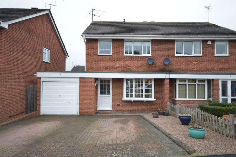 3 Bedrooms Semi Detached House for sale in Archers Close, Droitwich, WR9
