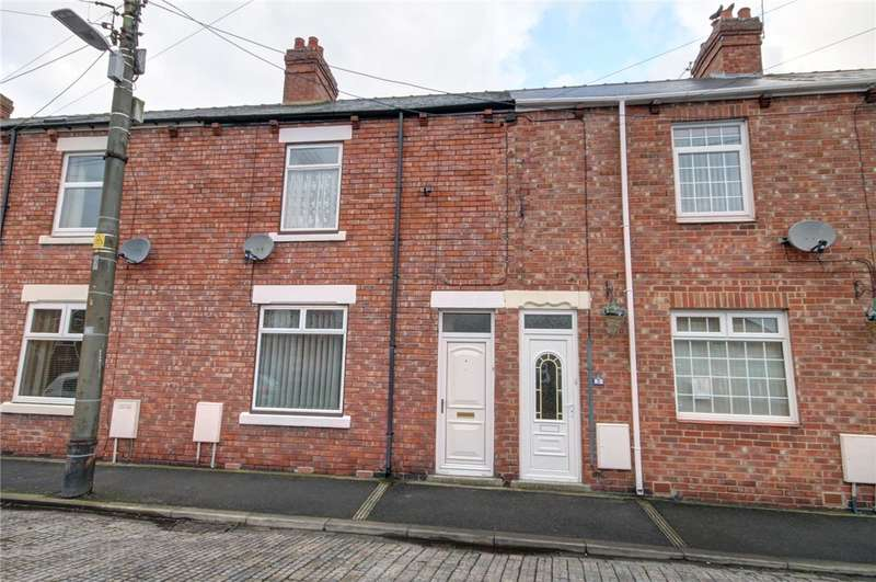 2 Bedrooms Terraced House for sale in Wood View, Langley Park, Durham, DH7