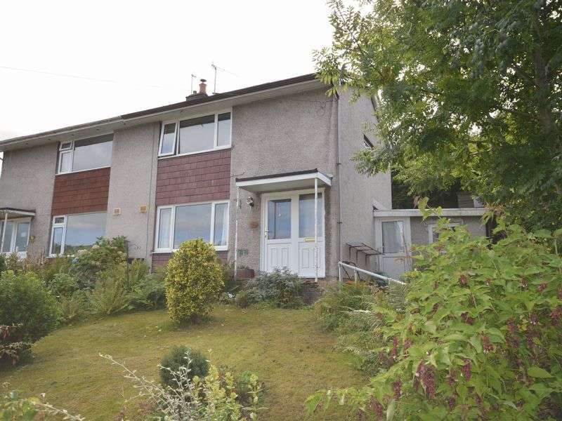 2 Bedrooms Semi Detached House for sale in Dan-Y-Bryn, Gilwern, Abergavenny