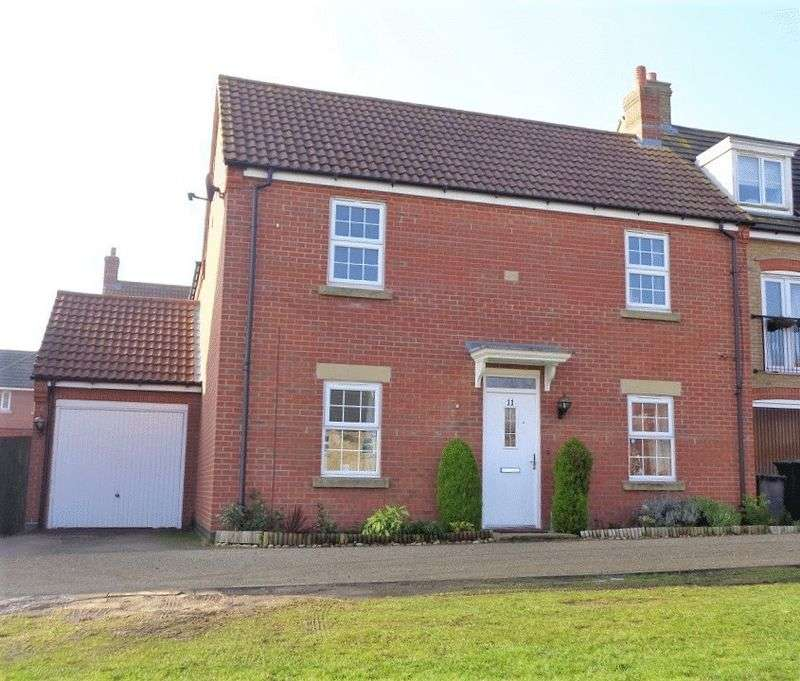 4 Bedrooms Detached House for sale in Bobbin Lane, Lincoln