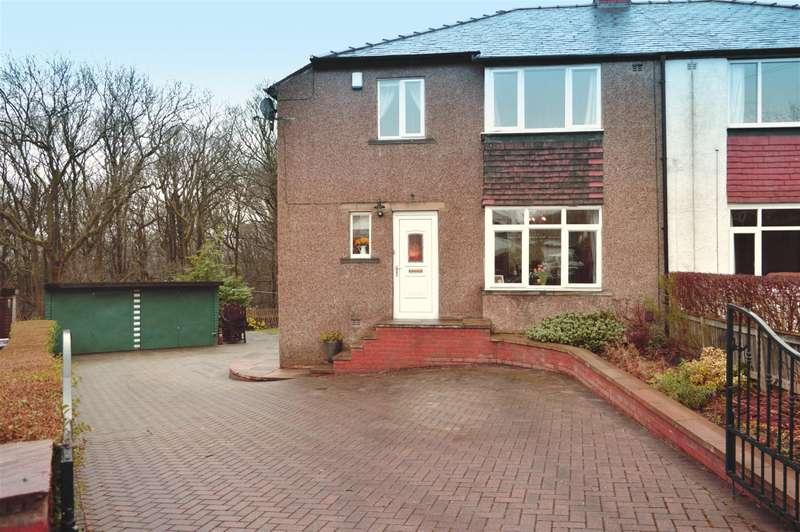 3 Bedrooms Semi Detached House for sale in Hazel Grove, Fixby, Huddersfield, HD2 2JP