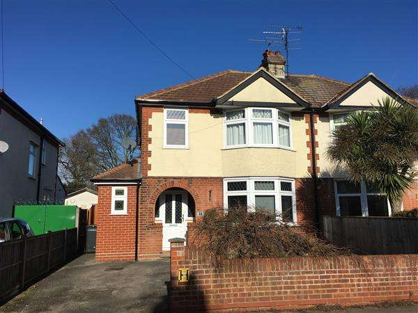 3 Bedrooms Semi Detached House for sale in Norbury Road, Ipswich