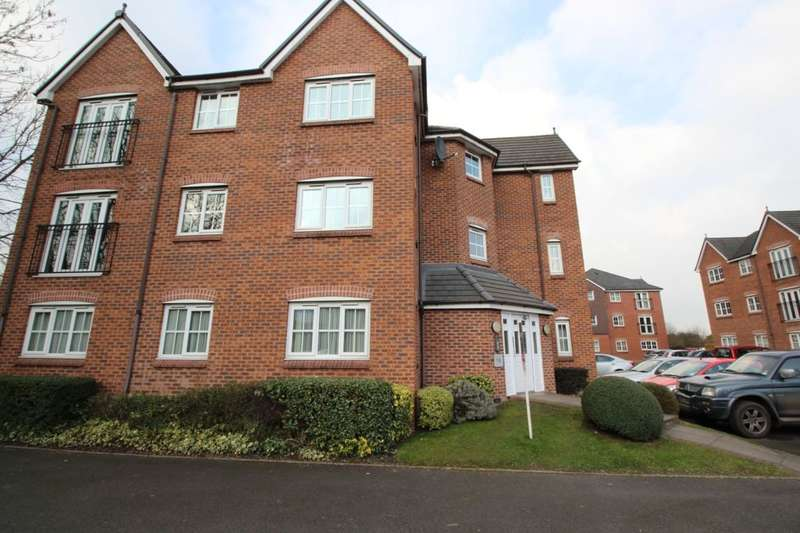 2 Bedrooms Flat for sale in Hendeley Court, Burton-On-Trent, DE14