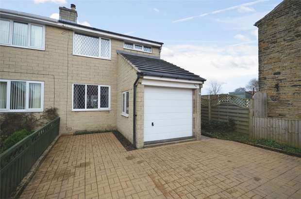 3 Bedrooms Semi Detached House for sale in Warburton, Emley, HUDDERSFIELD, West Yorkshire