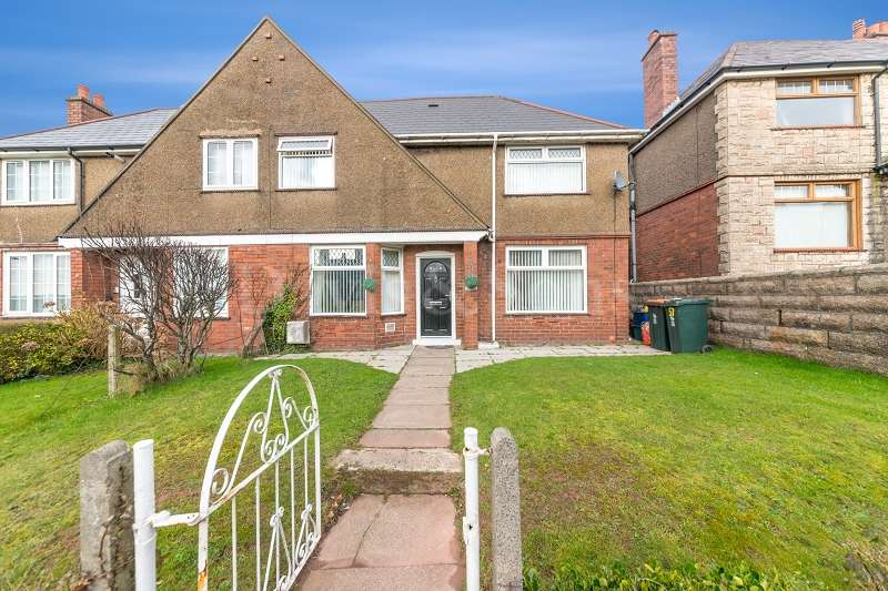 3 Bedrooms Semi Detached House for sale in Christchurch Road, St Julians, Newport. NP19 7SP