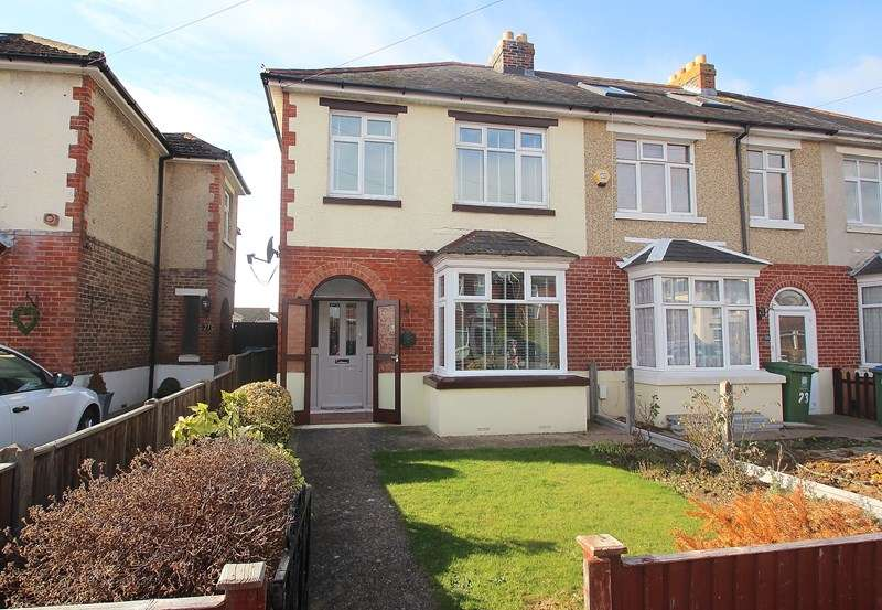 3 Bedrooms End Of Terrace House for sale in Nelson Avenue, Fareham