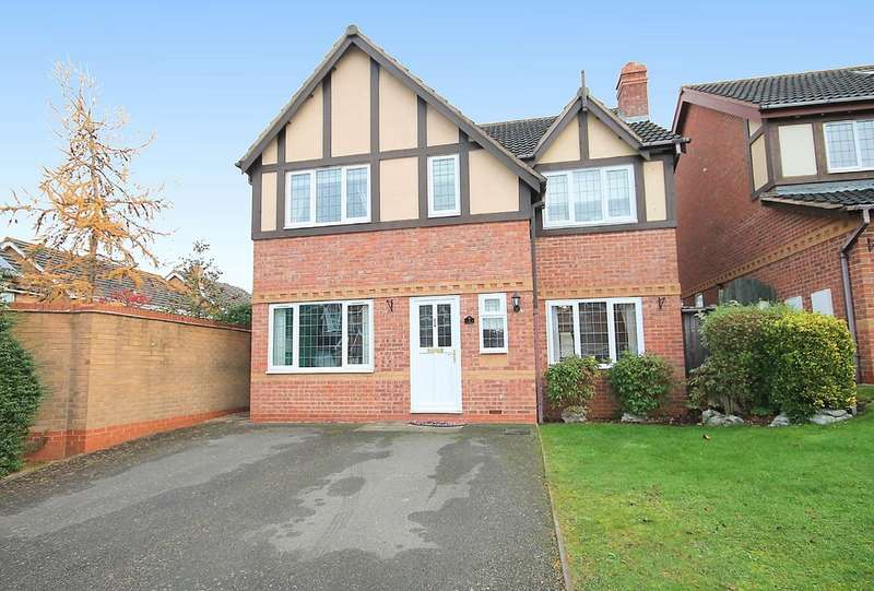 4 Bedrooms Detached House for sale in Wembury, Amington, Tamworth, B77 3RE
