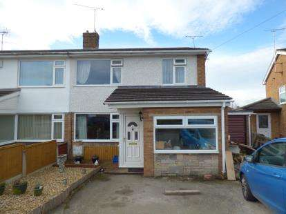 3 Bedrooms Semi Detached House for sale in Melwood Close, Penyffordd, Chester, Flintshire, CH4