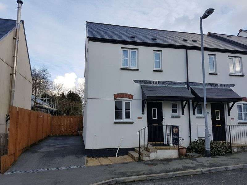 3 Bedrooms Terraced House for sale in Goonbarrow Meadow, Bugle