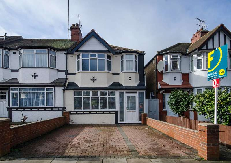 3 Bedrooms House for sale in St Augustines Avenue, Alperton, W5