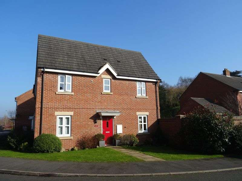 3 Bedrooms Semi Detached House for sale in Bernard Gadsby Close, Ashbourne