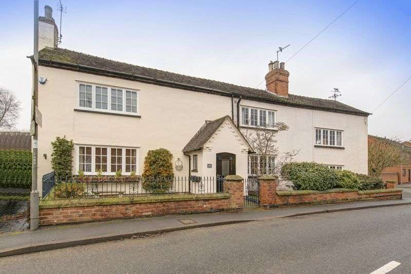 3 Bedrooms Semi Detached House for sale in LONG CROFT FARM HOUSE, DERBY ROAD, ASTON ON TRENT