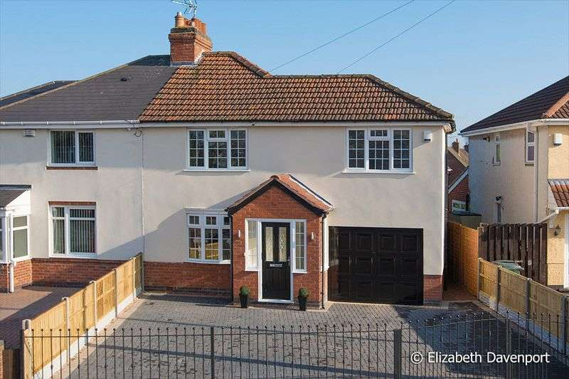 4 Bedrooms Semi Detached House for sale in Bennetts Road South, Keresley