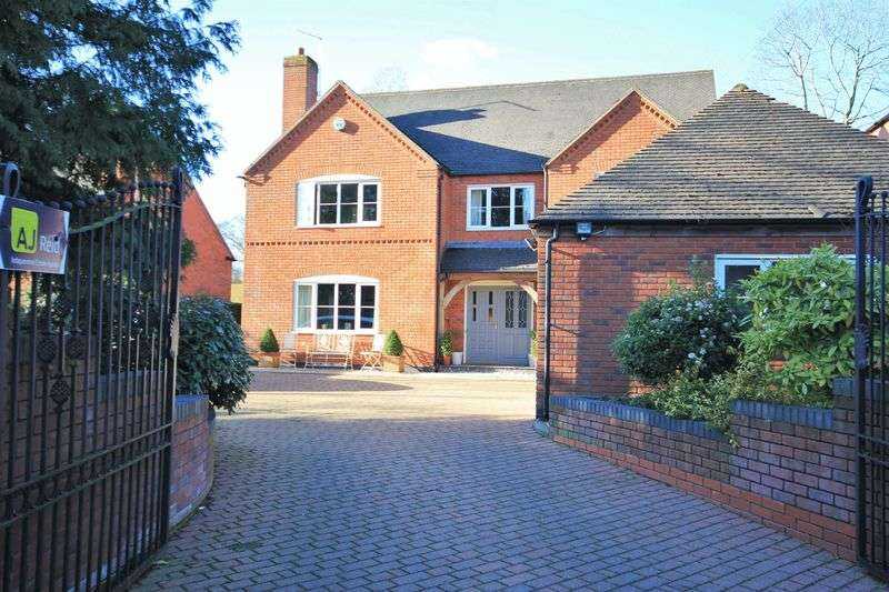 5 Bedrooms Detached House for sale in Chester Avenue, Whitchurch