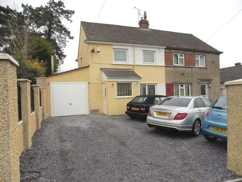 2 Bedrooms Semi Detached House for sale in Heol Y Frenhines, Bridgend