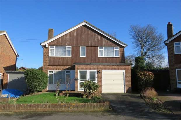 4 Bedrooms Detached House for sale in Chegworth Gardens, SITTINGBOURNE, Kent
