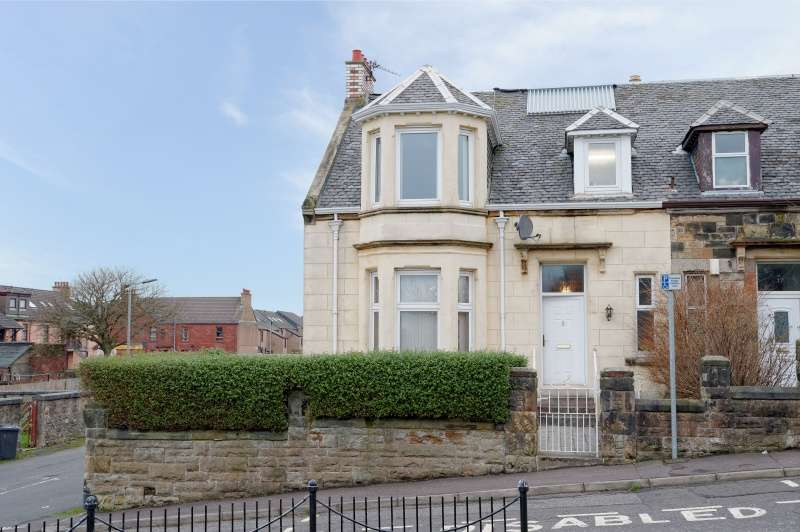 4 Bedrooms Semi Detached House for sale in Hill Place, Ardrossan, North Ayrshire, KA22 8HY