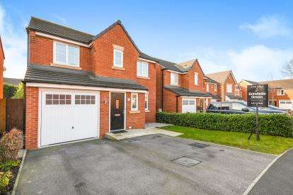 4 Bedrooms Detached House for sale in Hanging Birches, Widnes, Cheshire, Tbc, WA8