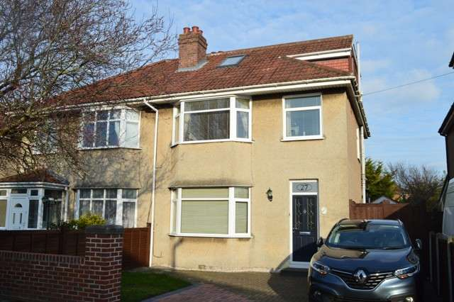 4 Bedrooms Semi Detached House for sale in Shaftesbury Road, Milton, Weston-super-Mare