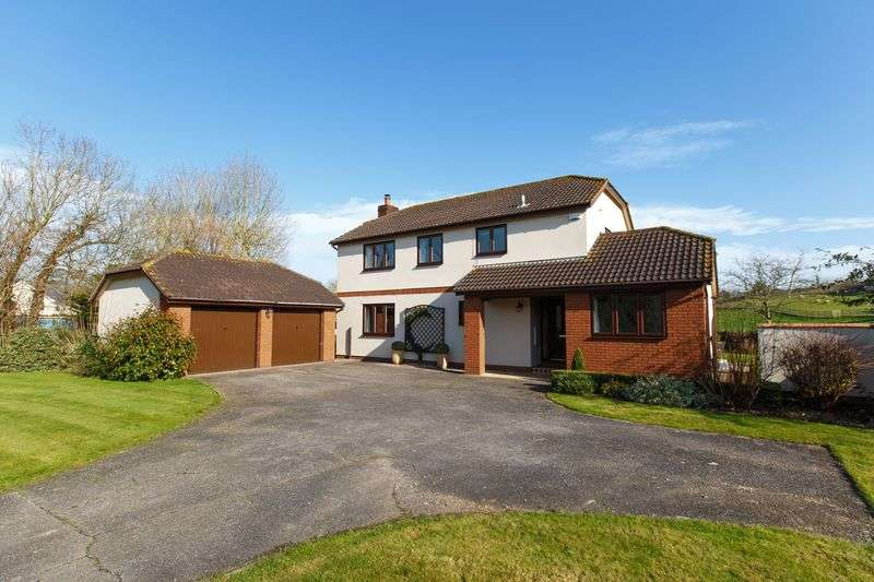 4 Bedrooms Detached House for sale in Meadowlands, Newton St Cyres